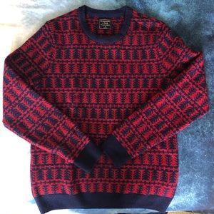 NEW A&F - M - Pattern Wool Sweater